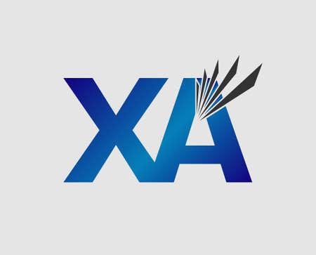 initial: XA initial group company Illustration
