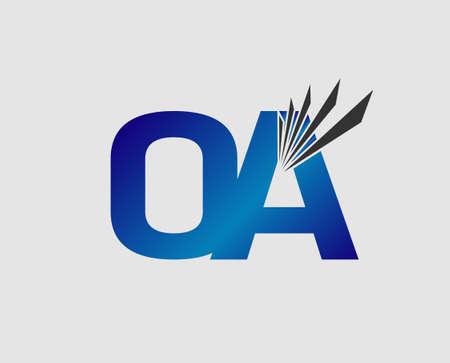 initial: OA initial group company logo