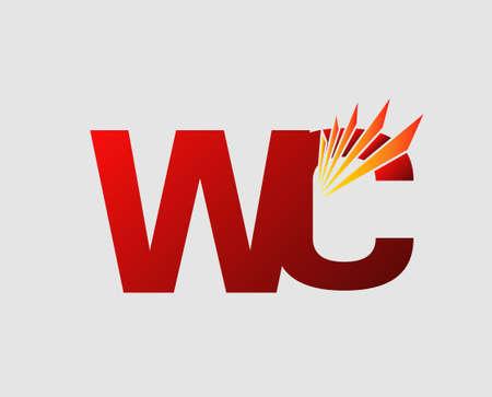 wc: Brief-Unternehmen verknüpft WC