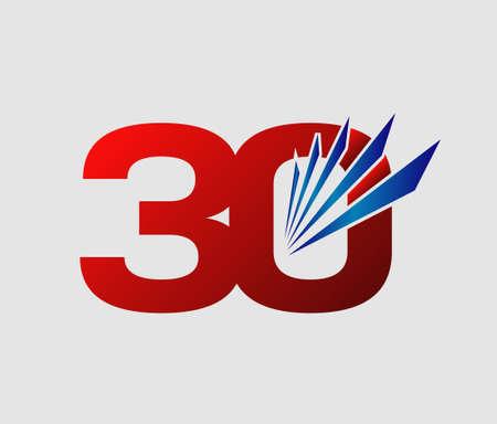 30 years: 30 years anniversary Template
