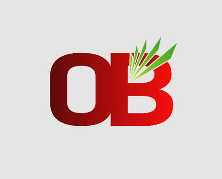 initial: OB initial group company Illustration