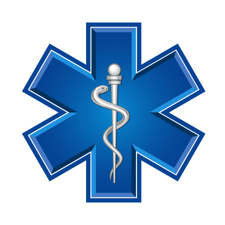 medical symbol: emergency medical symbol