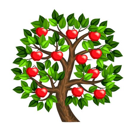apple tree 矢量图像