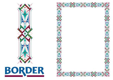 Zertifikate und Auszeichnungen Bordüren und Rahmen verziert Eleganter Stil