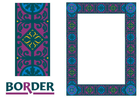 Certificates and Awards Borders and Framework decorated Elegant style