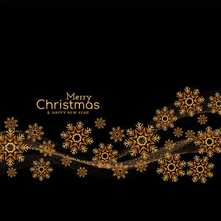 Merry Christmas festival greeting background vector 일러스트