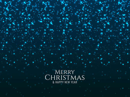 Merry Christmas glitters background vector 일러스트