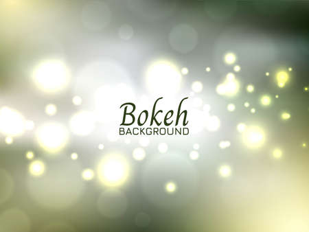 Modern colorful bokeh background vector