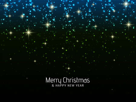 Merry Christmas glitters background vector 向量圖像
