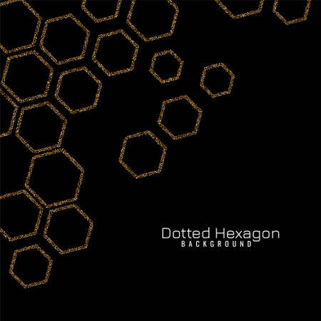 Sparkle hexagon modern background vector 向量圖像