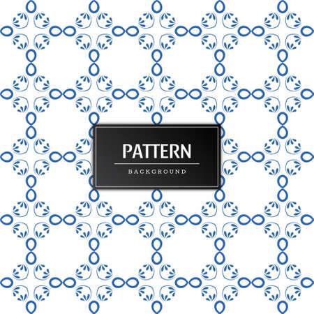 Elegant artistic pattern background vector