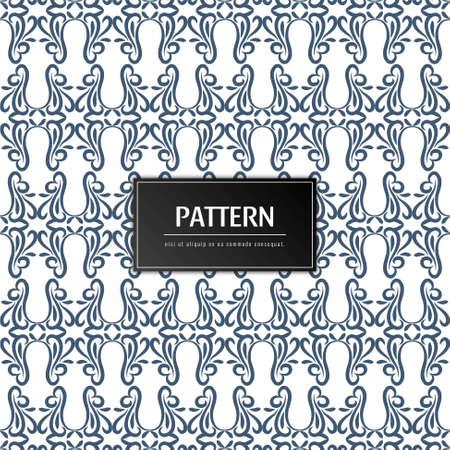 Abstract floral pattern elegant background Stock Illustratie