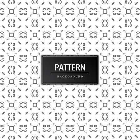 Beautiful decorative pattern background vector Stock Illustratie