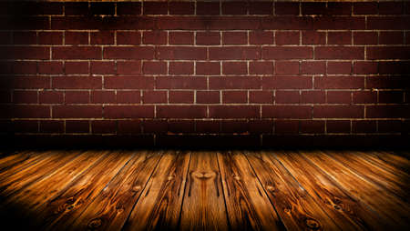 Grunge empty room Standard-Bild