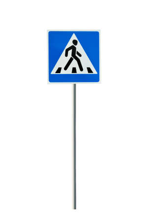 road signs pedestrian crossing photo