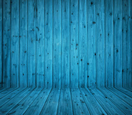 vintage blue wooden planks interior