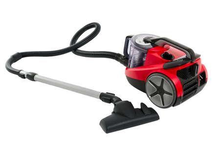 Vacuum cleaner isolated on the white background Stock Photo - 15825991