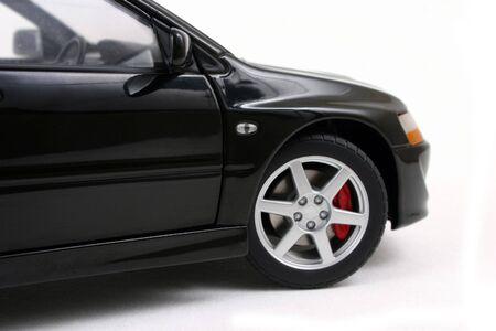 motor de carro: Vista lateral del coche