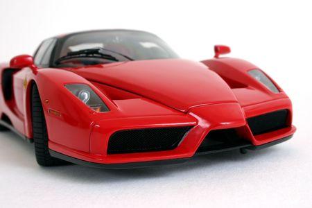 dream car: Roja coche deportivo  Foto de archivo