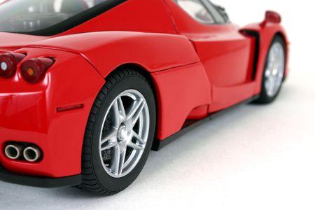 motor de carro: El rojo se divierte el coche