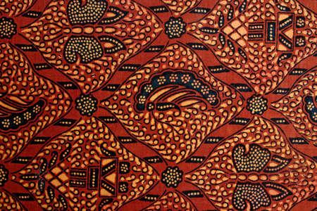batik: D�tail d'un batik conception de Bintan, en Indon�sie.
