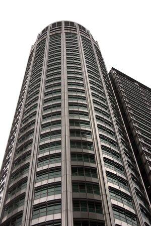 Tall skyscraper isolated Stock Photo - 990701