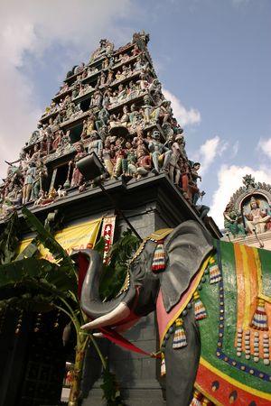 Hindu Temple in Singapore.
