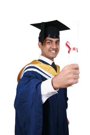 Young Indian graduation Stock Photo - 1614322