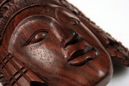 A Balinese wooden craft of Sita photo