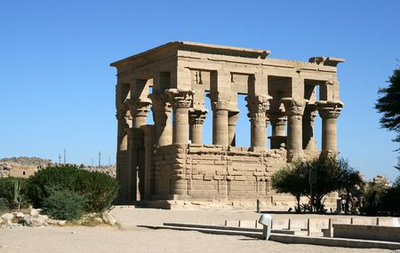 Temple of Philae.(Egypt) photo