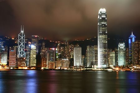Hong Kong Skyline Stock Photo - 3336240