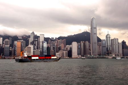 Hong Kong Skyline Stock Photo - 3352196
