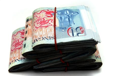 fifty dollar bill: Singapore Dollars