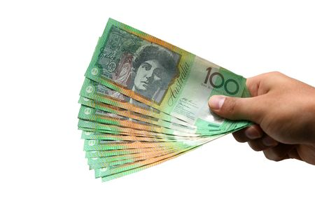 Australian Currency isolated on white Stock Photo - 5251177