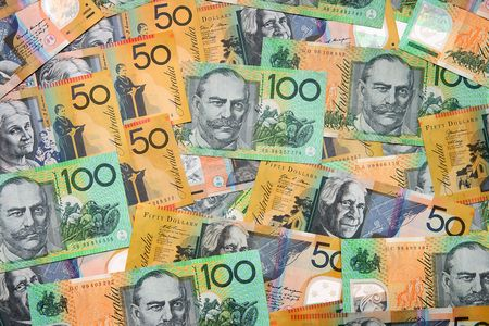 australian: Australian Currency closeup Stock Photo