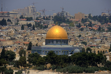 The Dome of the Rock , Jerusalem, Israel photo