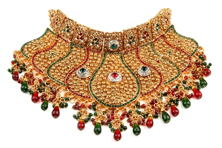 Indian jewelry Stock Photo