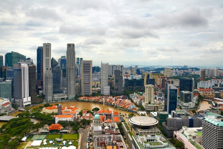 Skyline of Singapore photo