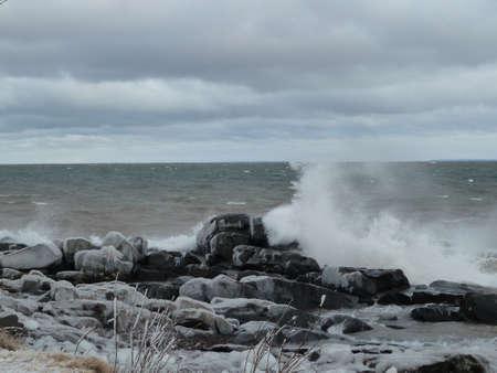 stormy waves Reklamní fotografie