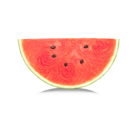 Watermelon isolated on white background. 免版税图像