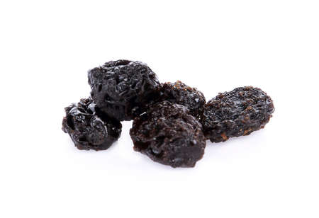 Raisins isolated on white background 免版税图像