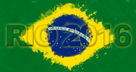 RIO DE JANEIRO, BRAZIL - 2016: 2016 Summer Olympics at Rio de Janeiro, Brazil (Rio 2016)