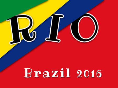 olympiad: RIO DE JANEIRO, BRAZIL - 2016: 2016 Summer Olympics at Rio de Janeiro, Brazil (Rio 2016)