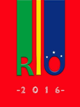 summer olympics: RIO DE JANEIRO, BRAZIL - 2016: 2016 Summer Olympics at Rio de Janeiro, Brazil (Rio 2016)