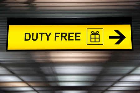 on duty: Duty Free