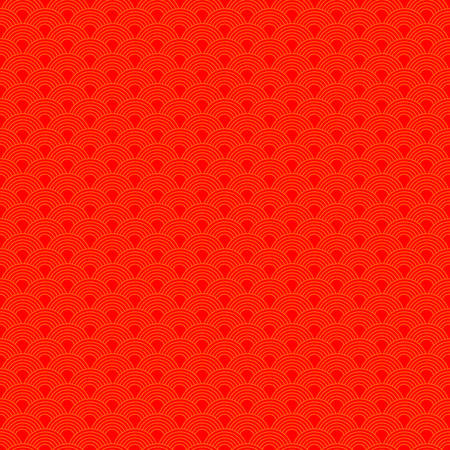 abstract Chinese new year seamless pattern traditional oriental background. vector illustration