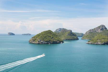 ang thong: Ang Thong Marine National Park is an archipelago containing 42 stunning island near Ko Samui, Ko Tao and Ko Phan-Ngan in the gulf of Thailand.