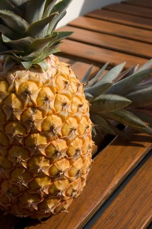 Pineapple a tropical fruit