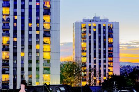 council: Council estates in London Stock Photo