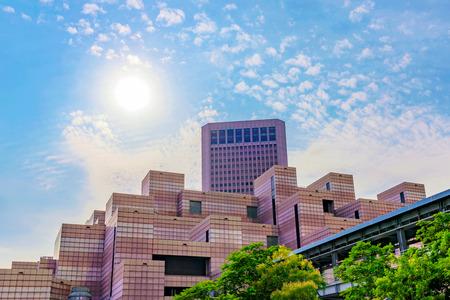 타이 페이, 대만 -5 월 31 일 :이 세계 무역 센터는 대만과 다른 나라 사이의 국제 무역을 장려하기 위해 건설되었다. 그것은 타이 페이에서 2017 년 5 월 31 에디토리얼
